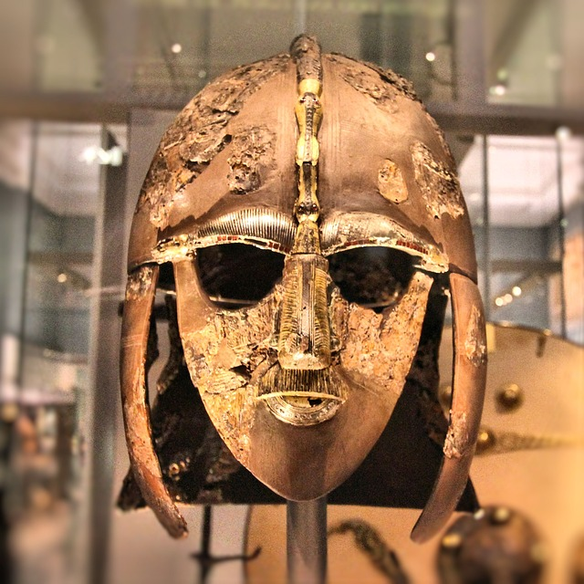 King Raedwald's Sutton Hoo helmet helps students see Beowulf's relevance