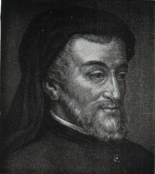 Geoffrey Chaucer, author of The Canterbury Tales