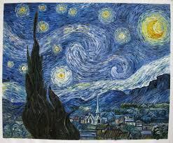 Anne Sexton wrote an ekphrastic poem about Van Gogh's Starry Night.