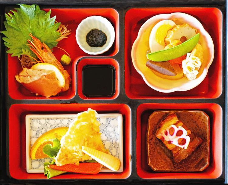 Bentos display food beautifully