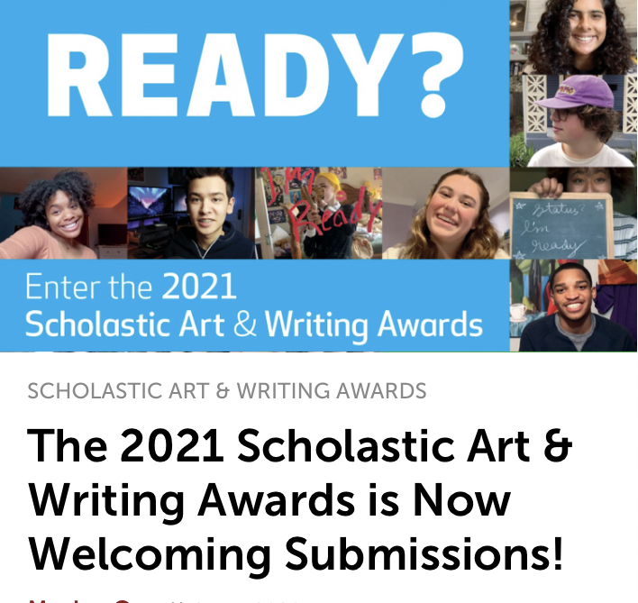 During Writer's Workshop, my high school students write articles and stories for the Scholastic Art & Writing Awards.