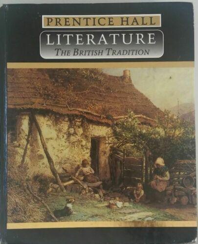 My Prentice-Hall British Tradition textbook