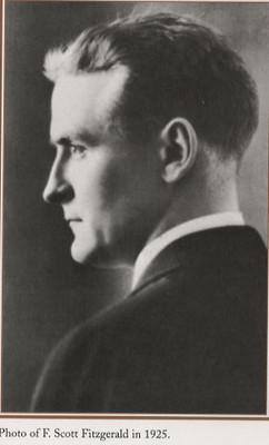 A photo of F. Scott Fitzgerald