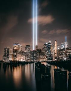 Sept. 11 Memorial Twin Tower Lights